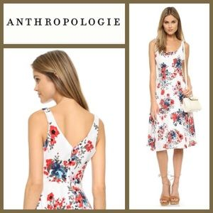 Anthropologie Floral Classy Beautiful Dress 4